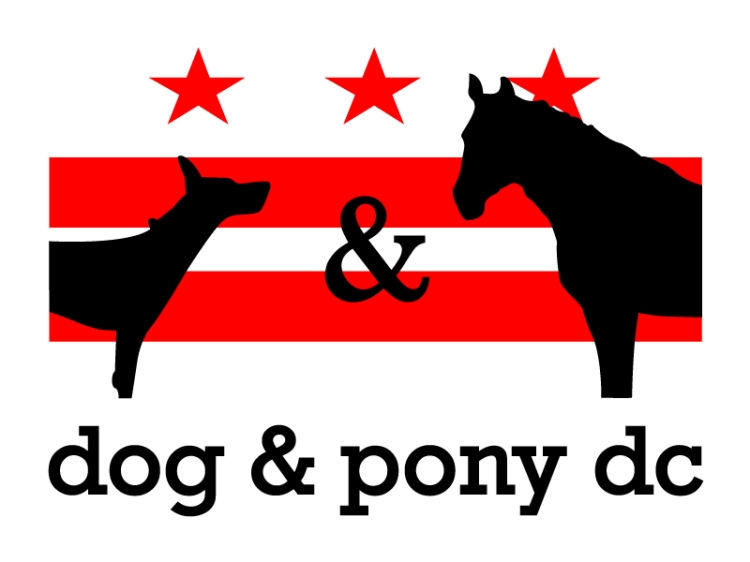 dog & pony dc logo
